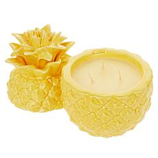 HomeWorx by Harry Slatkin 14 oz. Ceramic Pineapple Candle