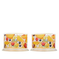 HomeWorx by Harry Slatkin 2-pack 4-Wick Candles - White Sangria