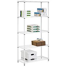 "Honey-Can-Do 5-Tier 36"" Urban Adjustable Shelving Unit"