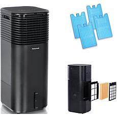 Honeywell 500 CFM Indoor Evaporative Tower Cooler with Fan