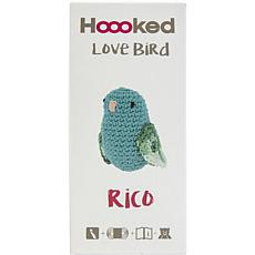 Hoooked Love Bird Yarn Kit with Eco Barbante Yarn - Turquoise