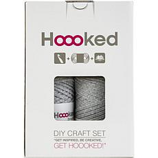 Hoooked Storage Bag Yarn Kit with Zpagetti Yarn - Medium Gray