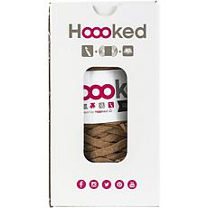 Hoooked Tablet Cover Yarn Kit with RibbonXL - Caramel Brown