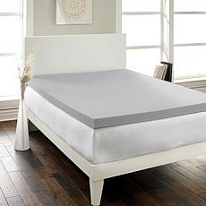 """Hotel Laundry® Hypoallergenic Charcoal 2.5"""" Memory Foam Topper Twin"""