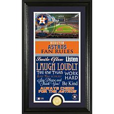 Houston Astros Fan Rules Supreme Bronze Coin Photo Mint