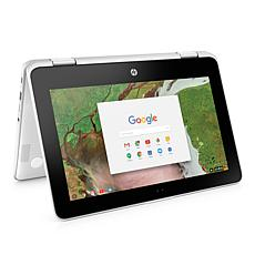 "HP 11.6"" Touch Convertible Chromebook Intel 4GB RAM 16GB eMMC Laptop"