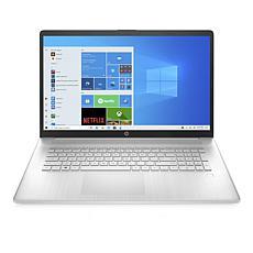 "HP 17"" Laptop Ath 3150U 8GB RAM, 512GB SSD - Natural Silver"