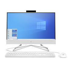 """HP 21.5"""" Athlon 4GB RAM 256GB SSD All-in-One with Keyboard and Mouse"""