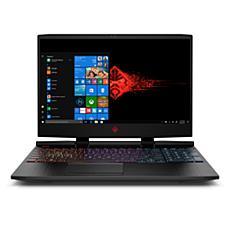 "HP Omen 15.6"" Core i7 8GB RAM 512GB SSD Gaming Laptop in Black"