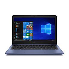 "HP Stream 11.6"" Intel Celeron 4GB 32GB Laptop in Blue"