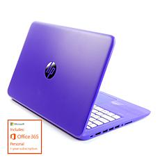 "HP Stream 14"" Intel, 4GB RAM, 64GB eMMC Laptop with 1-Year Office 365"