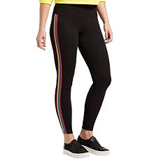 HUE Rainbow Tux Cotton Legging - Missy