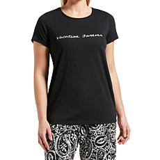 HUE Short-Sleeve Sleep Tee - Plus