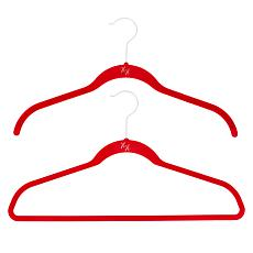 Huggable Hangers 20-pack of Shirt & Suit Hangers with Chrome Hooks