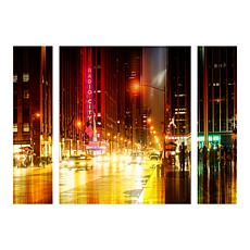 "Hugonnard ""Urban Stretch NYC IV"" Panel Art - 30"" x 41"""