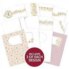 Hunkydory Crafts Forever Florals - Sunflower Luxury Card Inserts
