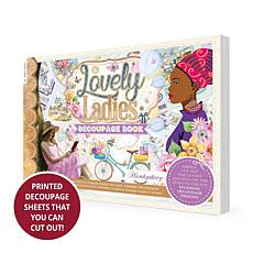 Hunkydory Crafts Lovely Ladies Decoupage Book