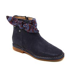 Hush Puppies Catelyn Bow Suede Ankle Bootie