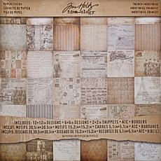 Idea-Ology Paper Stash Double-Sided Paper Pad - French Industrial