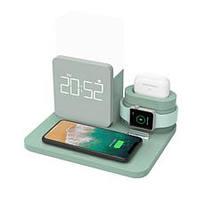 iDeaPLAY Charger Multi Function Alarm Clock and Mood Light