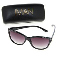 IMAN Global Chic Dressed & Ready Jewel-Accented Sunglasses