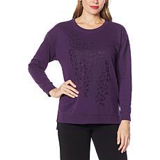 IMAN Global Chic Graphic Sweatshirt