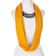 IMAN Global Chic Infinity Scarf Necklace