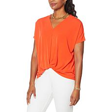 IMAN Global Chic Knot Front Top