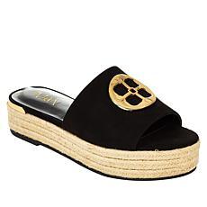 IMAN Global Chic Logo Slide Sandal