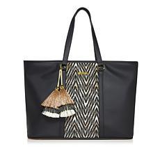 IMAN Global Chic Luxury Resort Getaway Handbag