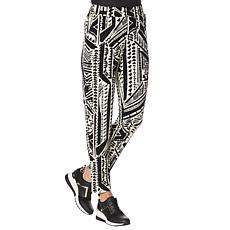 IMAN Global Chic Printed Ankle Pant