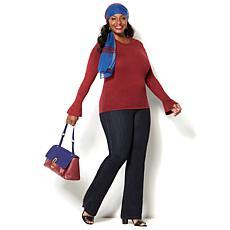 IMAN Perfect Fit 360 Curve Appeal Premium Denim Trouser Jean