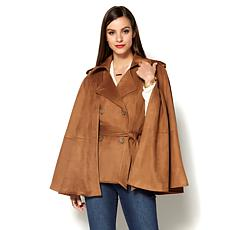 IMAN Runway Chic Luxurious Faux Suede Vest
