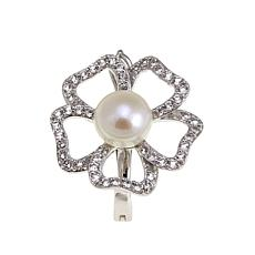 Imperial Pearls Cultured Pearl Flower Pendant