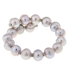 Imperial Pearls Gray Cultured Pearl Bracelet