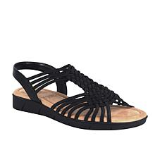 Impo Bernette Stretch Sandal with Memory Foam