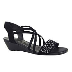 IMPO Gianelle Stretch Sandal with Memory Foam