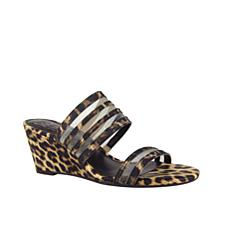 IMPO Niasha Stretch Wedge Sandal with Memory Foam