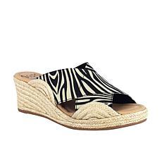 Impo Normi Stretch Elastic Espadrille Wedge Sandal