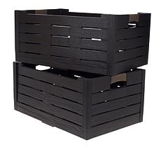 Improvements 2-pack Collapsible Storage Boxes