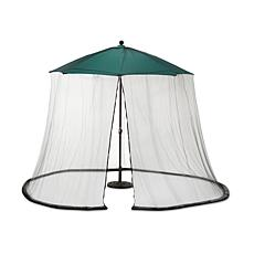 Improvements Adjustable Patio Umbrella Screen with Insect Repellent