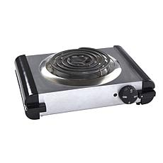 IMUSA Stainless Steel Electric Single Burner - Silver