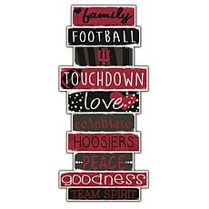 "Indiana Celebrations Stack 24"" Sign"