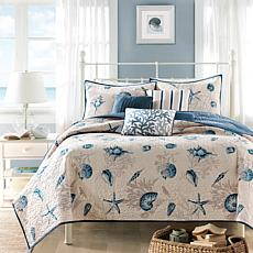 Intelligent Design  Raina Gray/Silver Metallic Comforter Set Twin/TXL