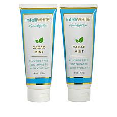 intelliWHiTE® Cacao Mint Fluoride-Free Toothpaste with Xyliclay™ Duo