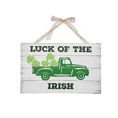 Irish Pickup Truck Wall Art