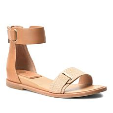 Isola Savina Leather Ankle-Wrap Sandal