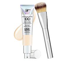 IT Cosmetics Fair Full Coverage SPF 50 CC Cream with Plush Brush