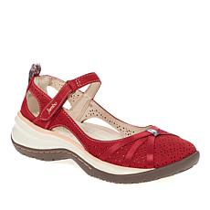 Jambu Originals Rally Nubuck Leather Mary Jane