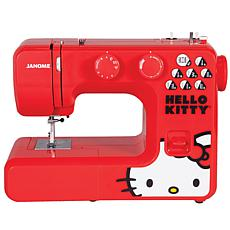 Janome Hello Kitty 12-Stitch Sewing Machine - Red